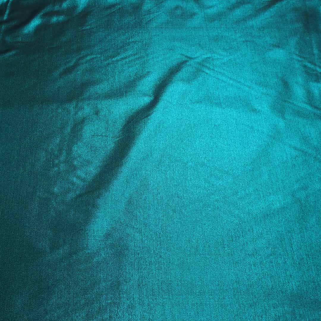 Abstract Textured Blue Brocade Fabric