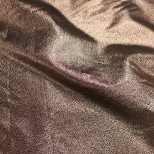 Abstract Textured Brown Brocade Fabric