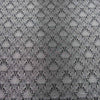 Abstract Textured Silver and Black  Brocade Fabric - Rex Fabrics