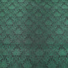 Abstract Textured Green Brocade Fabric - Rex Fabrics