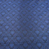 Damask Textured Blue Brocade Fabric - Rex Fabrics