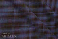 Ariston Casual Chic Collection Blue Check Suiting - Rex Fabrics