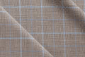 Ariston Dynamic & Light Collection Grey Check Suiting - Rex Fabrics
