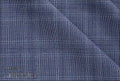 Ariston Dynamic & Light Collection Blue Check Suiting - Rex Fabrics
