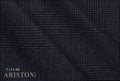 Ariston Casual Chic Collection Blue Check Suiting