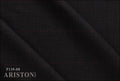 Ariston New Evergreen Collection Dark Grey Check Suiting - Rex Fabrics