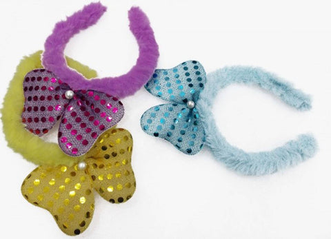 Kids Latest Soft Girl Hair Band Pack of 3 (Random Multicolor)