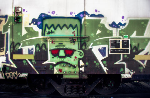 Frankie Train Graffiti