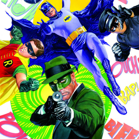 The Green Hornet & Batman | Square