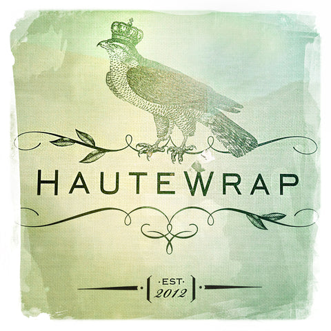 Haute Wrap Green | Square