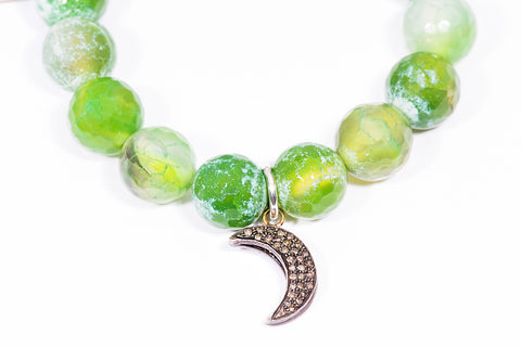 Lime Zest | Moon | Charm