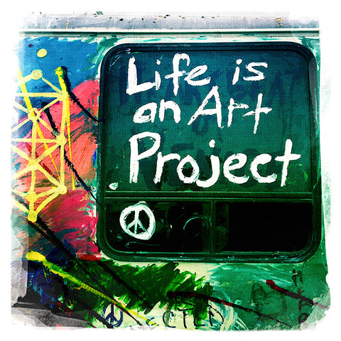 Life is an Art Project | Square