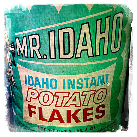 Mr. Idaho Potato Flakes | Square