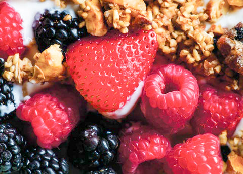 Fresh Fruit & Granola