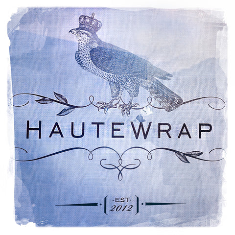 Haute Wrap Blue | Square