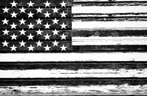 Old Glory B + W | Rectangle