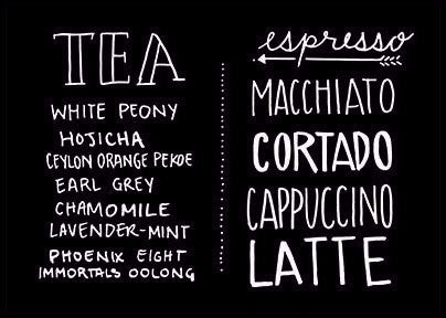 Tea Coffee | Rectangle