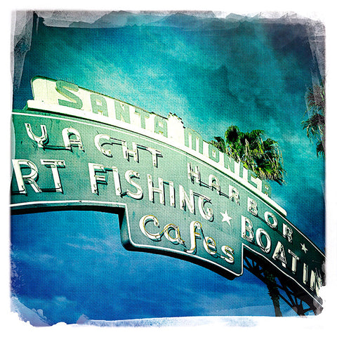 Santa Monica Pier Sign (Official) | Square