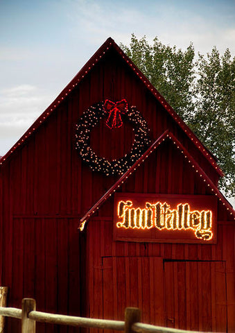 Sun Valley Barn with Tree
