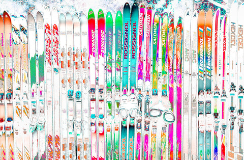 The Ski Wall | Rectangle