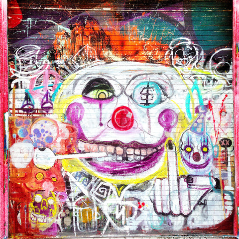 Venice Clown | Square