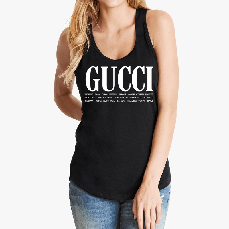 Gucci Cities Shirt For Men & Women