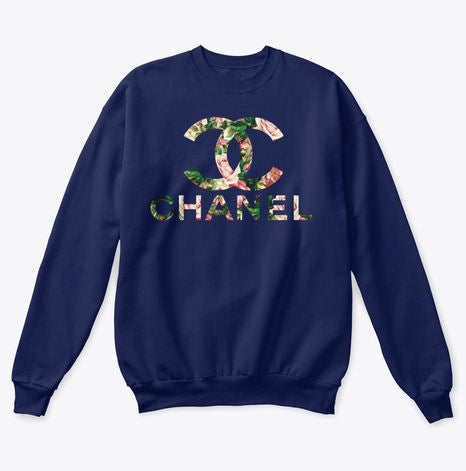 Chanel Flower Sweatshirt  For Men & Women