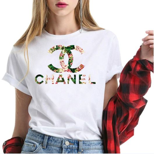 Chanel Flower Shirt For Men & Women