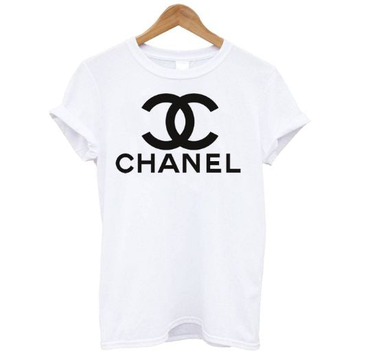 Chanel Logo Shirt For Men & Women