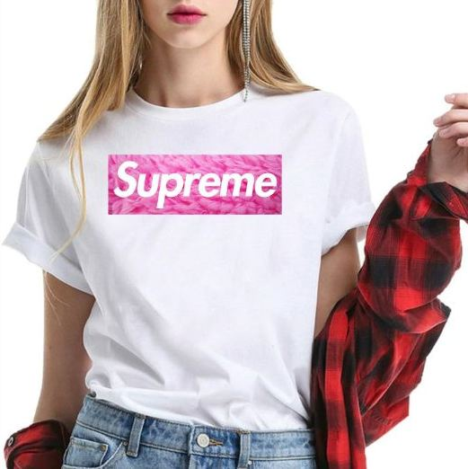 Supreme Logo Shirt For Men & Women