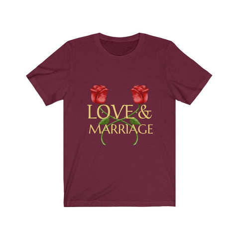 Love & Marriage Christian Tee | Christian Design Wear