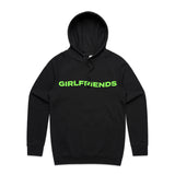 Girlfriends Wave Hoodie - Black