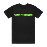 Girlfriends Wave Tee - Black