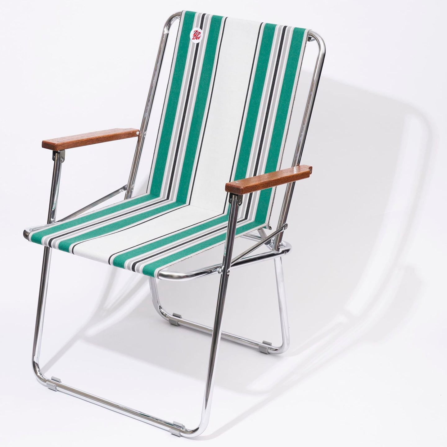 ZIP DEE CHAIR col.4752 [Green/Grey 4 bar] Vintage