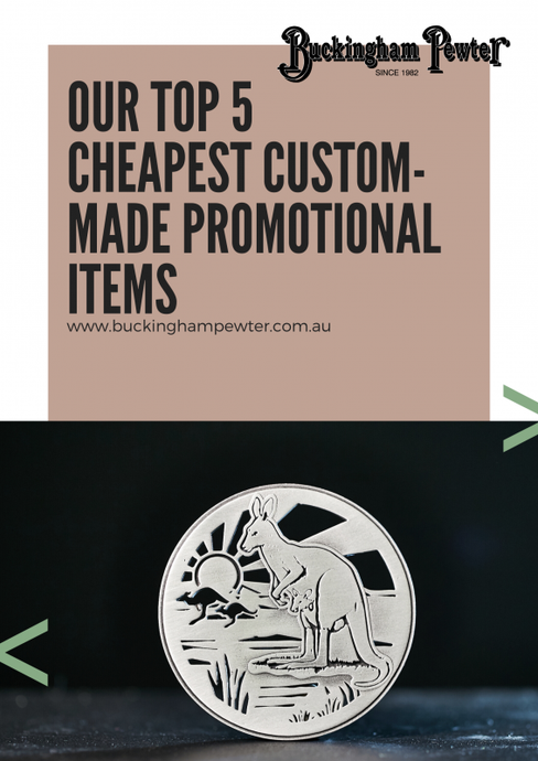 Our Top 5 Cheapest Custom-Made Promotional Items
