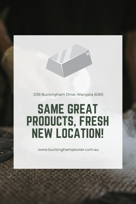 Same great products, fresh new location!