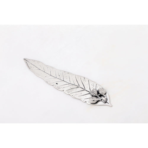 Gumnut Leaf Bookmark-Buckingham Pewter