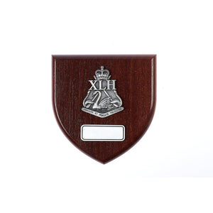 The 10th Light Horse Regiment Plaque Large - Buckingham Pewter