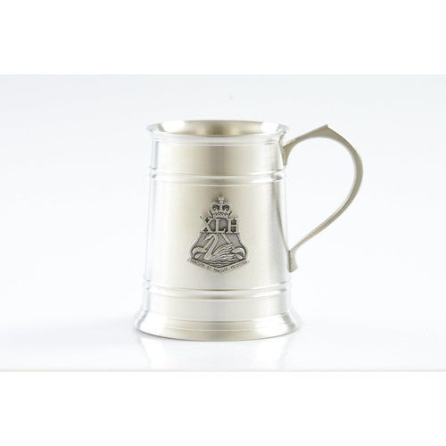 10th Light Horse Regiment 560 ml Tankard-Buckingham Pewter
