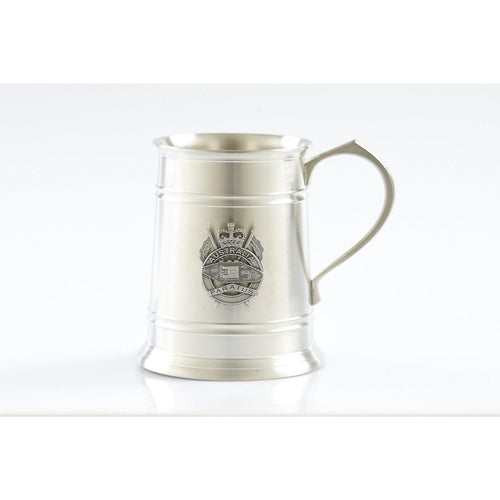 1st Armoured Regiment 560 ml Tankard-Buckingham Pewter