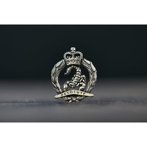 3rd/4th Cavalry Regiment Pewter Lapel Pin - Buckingham Pewter