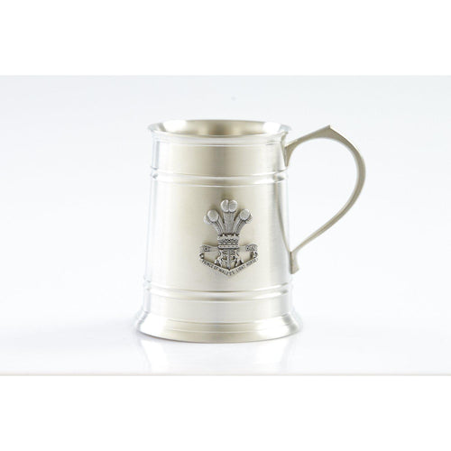 4th/19th Prince of Wales Light Horse Regiment 560 ml Tankard-Buckingham Pewter