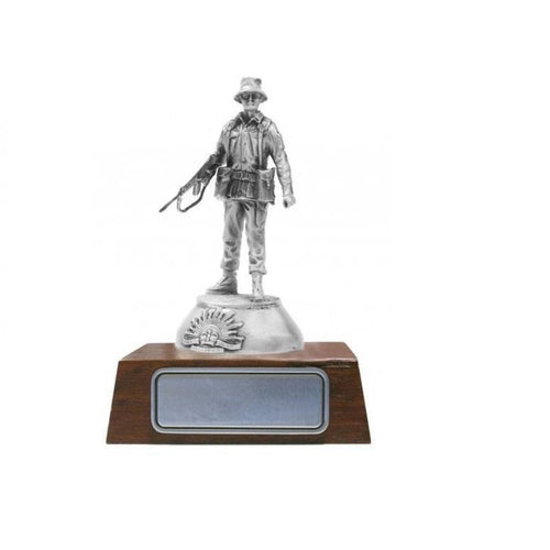 A010 The Australian Army Combat Pewter Figurine - Buckingham Pewter