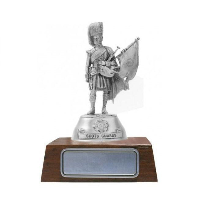 A013 Piper Major 2nd Battalion Scot Guard Pewter Figurine - Buckingham Pewter