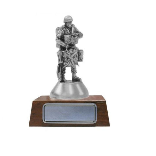 A020 RAR Royal Australian Regiment Airborne Company Pewter Figurine - Buckingham Pewter
