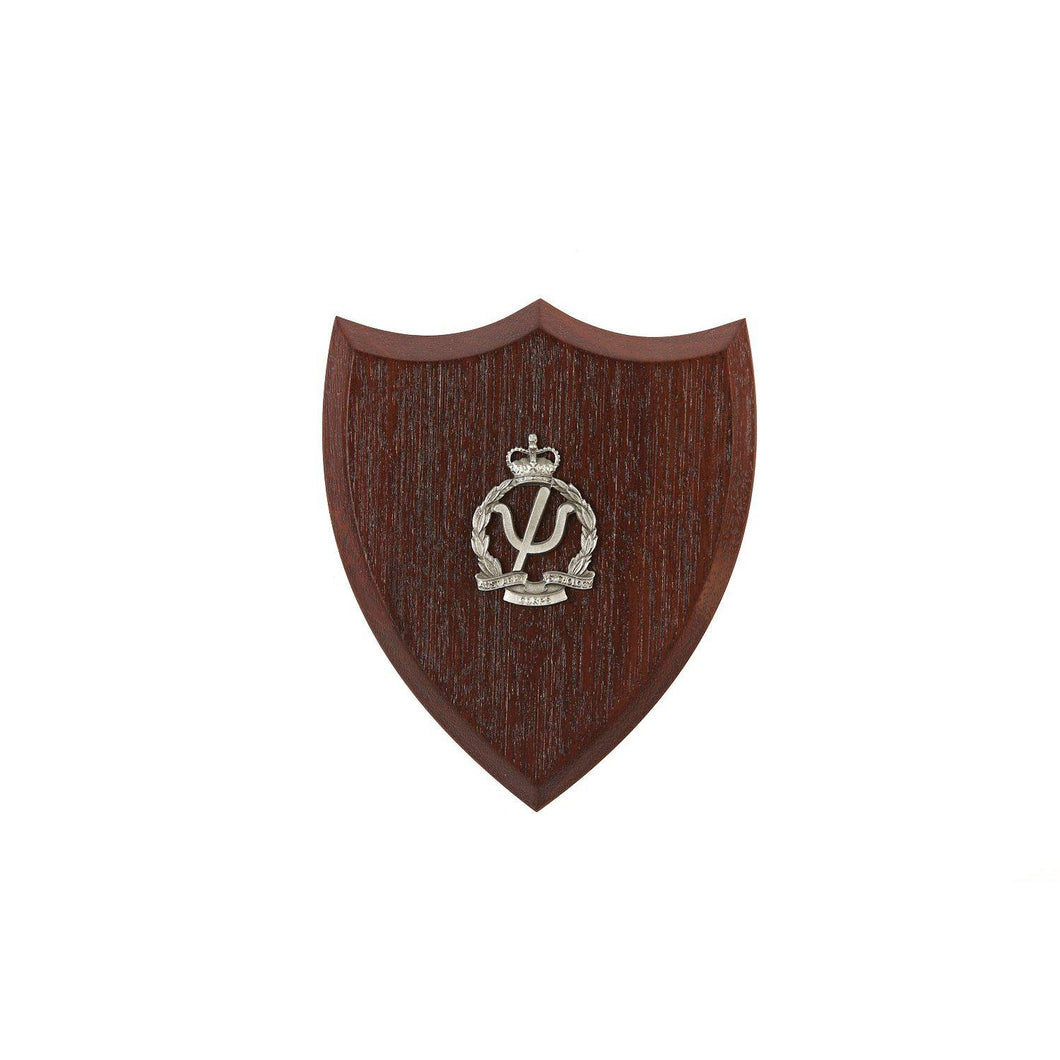 The Royal Australian Army Psychology Corps Plaque Small (AA Psych) - Buckingham Pewter