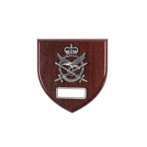Australian Army Aviation Corp Plaque Large (AAAvn) - Buckingham Pewter