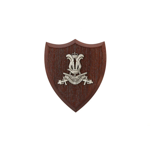 The Australian Army Band Corps Plaque Small (AABC) - Buckingham Pewter