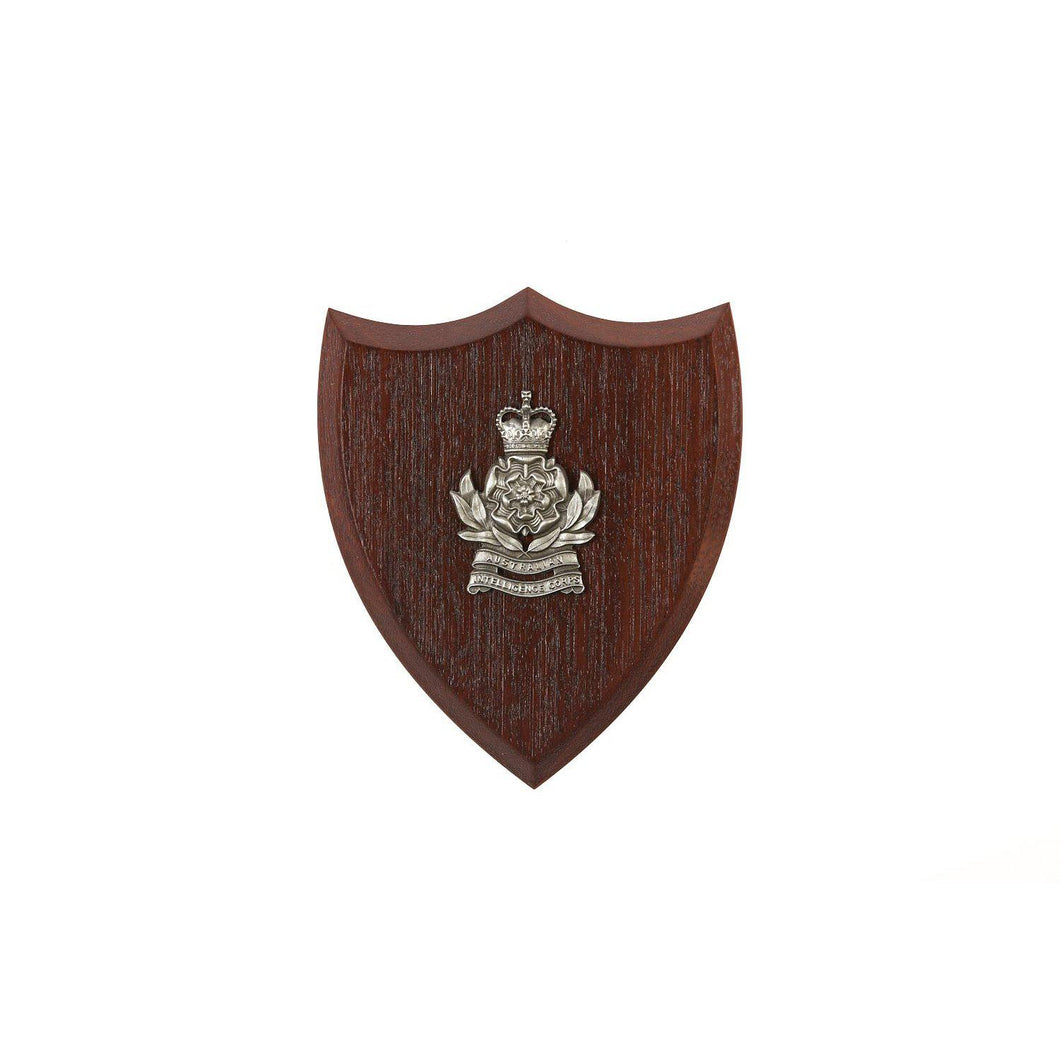 The Australian Intelligence Corps Plaque Small (AUSTINT) - Buckingham Pewter