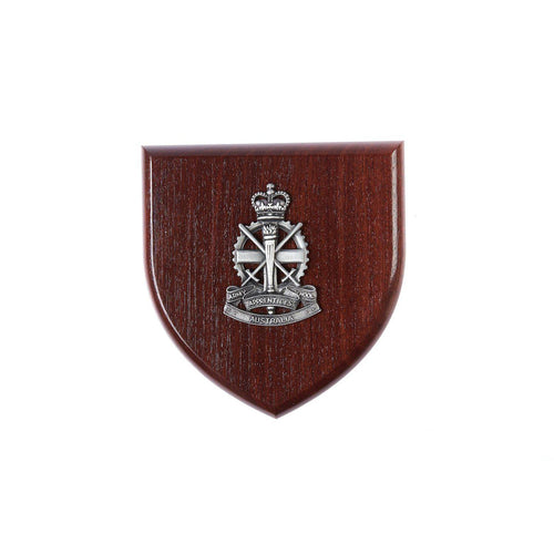 Army Apprentices School Badge Plaque Large-Buckingham Pewter